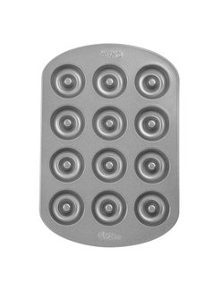 Wilton 12 Cavity Mini Donut Pan