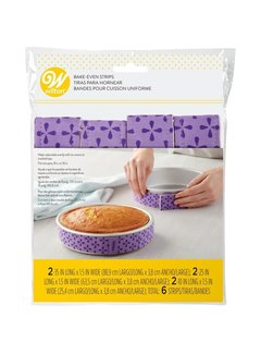 Wilton Bake Even Strips - Large Set
