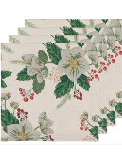 Now Designs Winterblossom 4pc Napkins