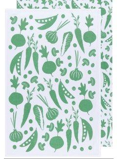 Now Designs Veggies 2pc Flour Sack