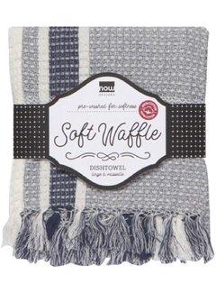 Now Designs Soft Waffle Indigo Towel