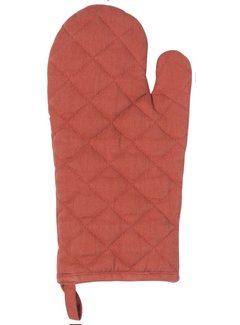 Heirloom Oven Mitt - Clay