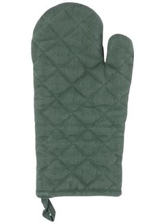 Heirloom Oven Mitt - Jade