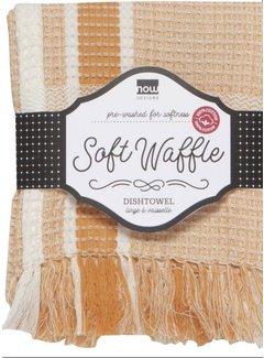 Soft Waffle Teatowel - Ochre