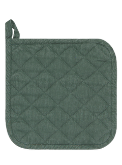 Heirloom Stonewashed Potholder - Jade