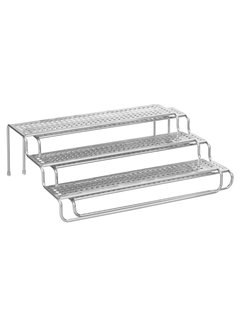 InterDesign Classico Expandable Spice Rack - Silver