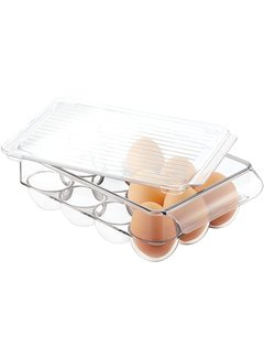 InterDesign Fridge Binz Egg Holder - Small Clear