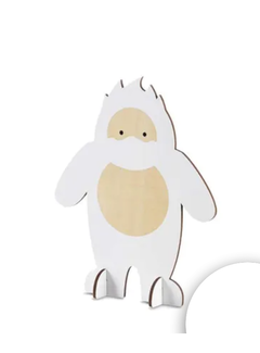 Design Ideas Harry Abominable Snowman, Large