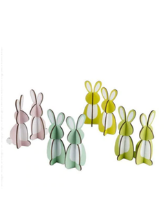 Design Ideas Easter Bunnies Wooden