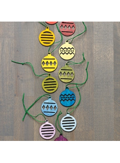Design Ideas Baubles Ornaments Wood
