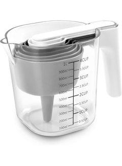 Dexas 9 Pc Measuring Cup Set