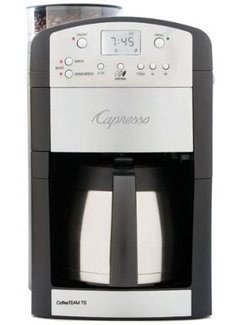 Jura Capresso CoffeeTeam TS 10 cup SS Thermal Coffeemaker/Burr Grinder