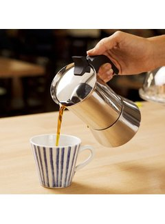 Bialetti Venus Stainless Steel Espresso Maker - 6 Cup