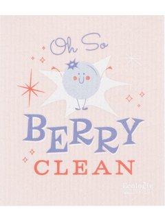 Cheeky Berry Swedish Dishcloth