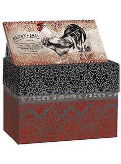 Lang Cardinal Roaster Recipe Box