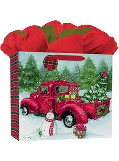 Lang Santa's Truck Extra Large Gift Bag