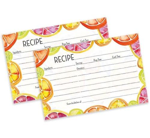 Main Squeeze Recipe Card