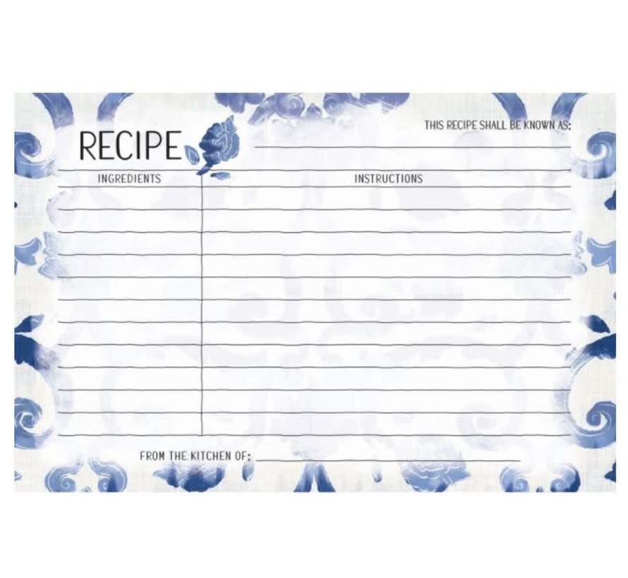 Patina Vie Recipe Cards