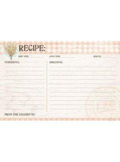 Farmhouse Recipe Cards - 4x6