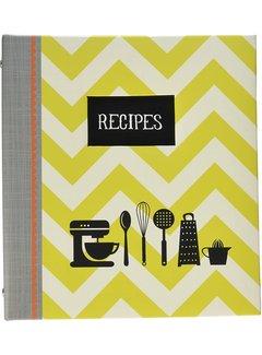 C.R. Gibson Pocket Page Recipe Book Kitchen Gear