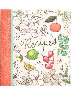 C.R. Gibson Fruit Fusion Recipe Card Book