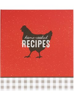C.R. Gibson Home Cooked Recipe Book