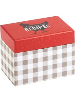 C.R. Gibson Home Cooked Recipe Box