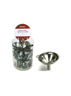 Port-Style Mini Funnel - Stainless Steel