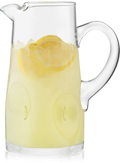 Impressions Glass Pitcher
