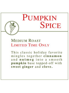 Fresh Roasted Coffee - Pumpkin Spice