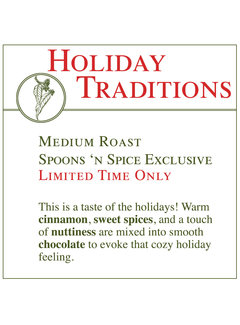 Fresh Roasted Coffee - Holiday Traditions