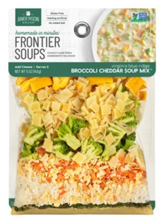 Frontier Soups Virginia Broccoli Cheddar Soup