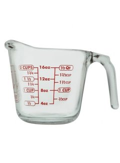 Anchor Hocking 16oz Glass Measuring Cup