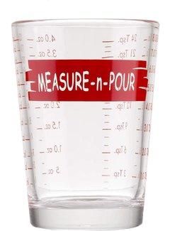 TableCraft 4 oz/118 ml Measure & Pour