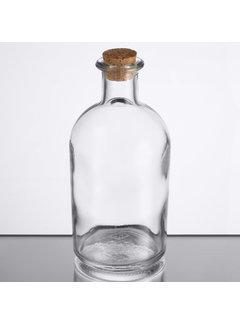 Olive Oil Bottle with Cork, 7.75 oz.