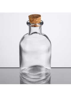 Apothecary Bottle with Cork, 4.25 oz.