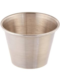 2.5 oz Sauce Cup, Stainless Steel