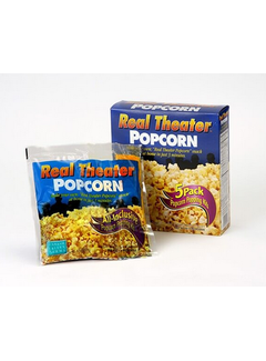 Real Theater Popcorn All-Inclusive Kits 5 Pack