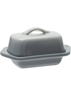 Chantal Mini Butter Dish, Fade Grey