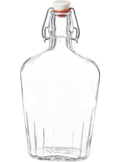 Bormioli Rocco Fiaschetta Flask - 17 oz (0.5 Liter)