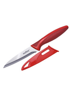 "Zyliss 4"" Serrated Paring Knife W/Sheath"