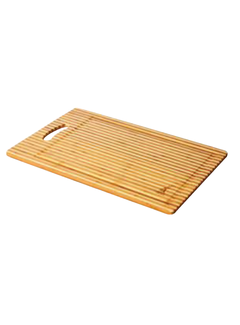 Island Bamboo Laguna Carving Board With Drip Edge