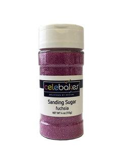 CK Products Sanding Sugar Fushia, 4 Oz.