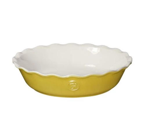 "Emile Henry Pie Dish Leaves 9"""