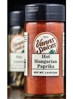 Vanns Spices Paprika, Hot Hungarian