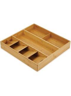 Joseph Joseph DrawerStore Bamboo Cutlery, Utensil & Gadget Organizer