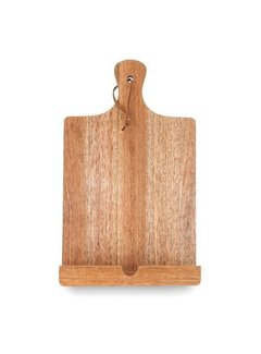 True Brands Twine Acacia Cook Book/Tablet Holder