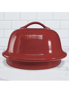 Sassafras Superstone La Cloche Glazed - Red