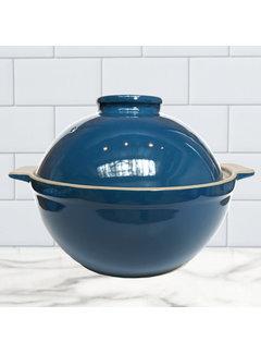 Sassafras Superstone Bread Dome Glazed - Blue