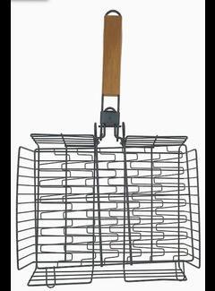 Mr. Bar-B-Q Deluxe Adjustable Grilling Basket